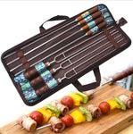 Selpa 81434 Набор для шашлыка Outdoor BBQ Skewer Set