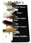 20006 Набор мушек с головой из стриженного меха Muddler Fly Set