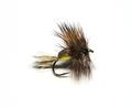 11084 Сухая мушка имитация жука Humpy Yellow