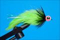 16065 Лососевая мушка Egg Hare Ball Leech Black Chartreuse Pink