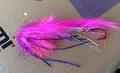 16011 Лососевая мушка String Leech Pink