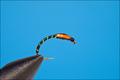 14163 Мушка нимфа SLIMLINE BUZZER BLACK