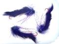 16012 Лососевая мушка String Leech Purple