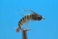 14170 Мушка нимфа Caddis Larva Natural