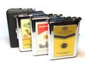 93002 Автоматический портсигар-зажигалка Lighter Cigarette Case