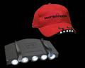 81135 Фонарик для крепления на бейсболку 5 Led Cap Light