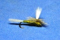 11024 Сухая мушка Parachute Blue Wing Olive