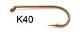 60173 Крючок одинарный К40 - Dry/Wet Fly Hook