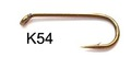 60174 Крючок одинарный К54 - Nimph Fly Hook
