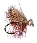 11121 Сухая мушка Elk Hair Caddis Brown