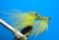 16075 Мушка имитация креветки Pattegrisen Yellow/Olive