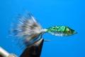 15102 Мушка стример Twinkle Tube Fish Green