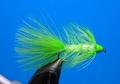 15113 Мушка стример Ice Cone Chartreuse