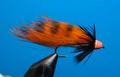 15122 Мушка стример Zonker Cone Orange