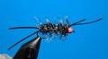 15123 Мушка стример Hot Head Bugger Black