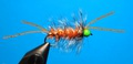 15124 Мушка стример Hot Head Bugger Orange