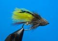 15136 Мушка стример Muddler Marabou Yellow