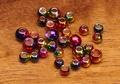 58054 Латунные головки Multihued Rainbow Brass Beads