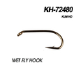 60180 Крючок одинарный KH-72480 WET FLY HOOK