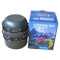 81406 Набор туристической посуды Cooking Set DS-201