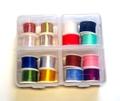 54066 Набор материалов на катушках для вязания мушек New 4 Part Folding Box