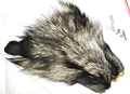 52374 Мех черно-бурой лисы Black Fox Fur
