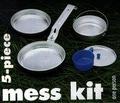 81412 Набор туристической посуды Mess Kit