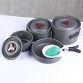 81413 Набор посуды туристический Portable Pot Set BRS-155