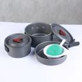 81414 Набор посуды туристический Portable Pot Set BRS-153
