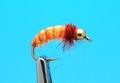14220 Мушка нимфа ручейника GH Caddis Larva Orange
