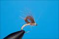 12027 Мушка эмеджер Beige Emerger Brown CDC