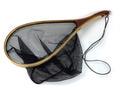 81118 Деревянный подсачек Wooden Fish Landing Net