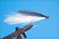 18014 Морская мушка Deceiver White Blue