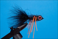 15270 Мушка стример Black Perch Streamer