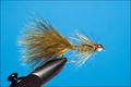 15273 Мушка стример Brass Gold Bead Olive Soft Hackle II
