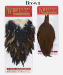53273 Набор перьев Whiting Hen Capes and Saddle Set