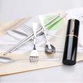 81420 Походный набор столовых приборов 3 in 1 Spoon-Fork-Chopstick Poket Set