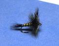 11008 Сухая мушка имитация бабочки поденки Green Drake
