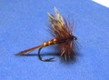 11010 Сухая мушка имитация бабочки поденки March Brown