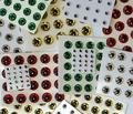 58026 Объемные глазки 3D Holographic Eyes