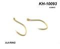 60238 Крючок одинарный KH-10093G AJI-RING GOLD