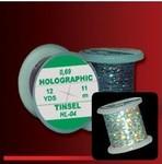 54015 Голографический плоский люрекс Holographic Tinsel