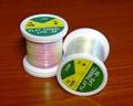 54104 Плоский перламутровый люрекс Flat Tinsel White Pearl Green Effect