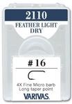 60552 Крючок одинарный 2110 Featherlight Dry