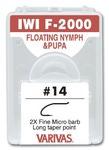 60559 Крючок одинарный IWI F-2000 Float Nymph and Pupa