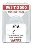 60562 Крючок одинарный IWI T-2000 Terrestrial