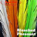 53319 Перо фазана Bleached Pheasant Tail