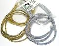 52205 Плетеная голографическая трубка Holographic Mylar Cord