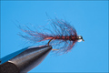 14117 Мушка нимфа Bead Head Simi Leech Black Red