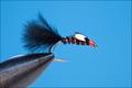 14121 Мушка нимфа Bou Tail-Black JC